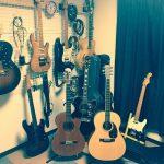 Mkギター教室の楽器達